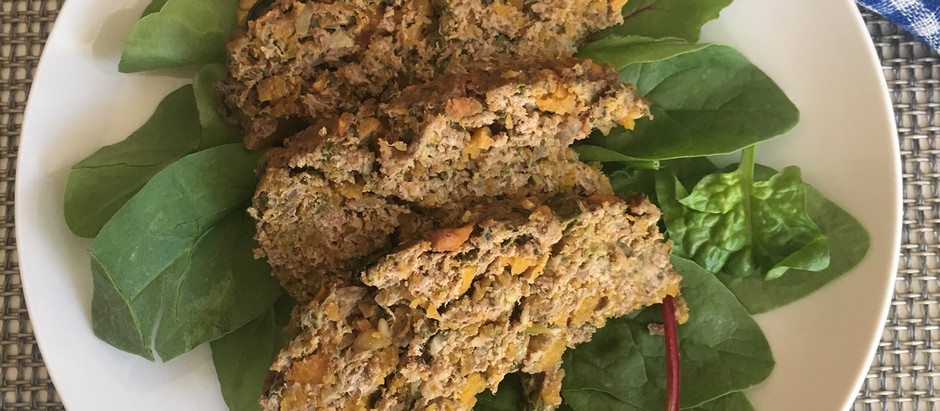 AIP Protein-Packed Veggie Meatloaf