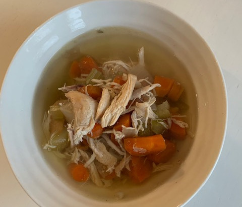 Immune Friendly Chicken Soup (Slow Cooker)