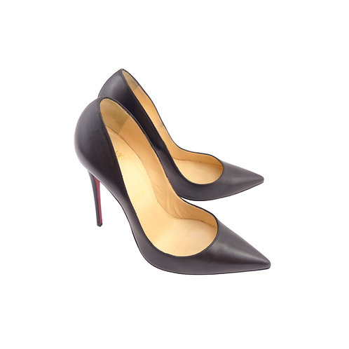 Christian Louboutin 'So Kate' Black Kid Leather
