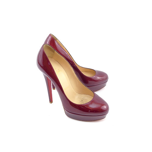 Christian Louboutin 'Bianca' 140 Rouge Imperial Patent
