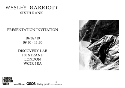 Wesley Harriott AW19