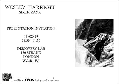 Wesley Harriott AW19