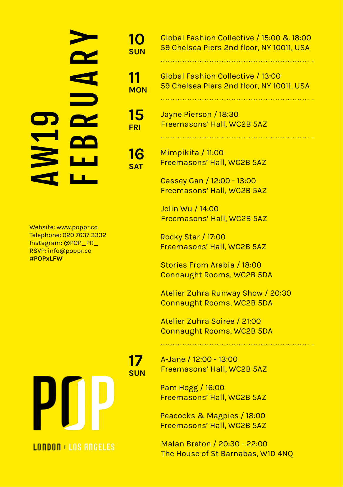 POP Schedule AW19 Interactive-1
