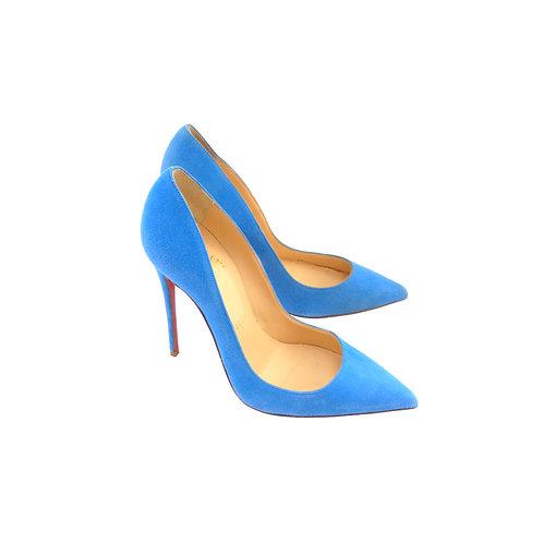 Christian Louboutin 'So Kate' 120 Blue Egyptian Suede