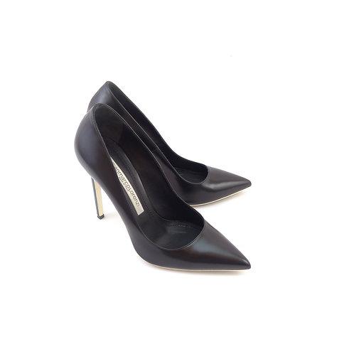 Gianmarco Lorenzi 'Pearl Court' Black Leather