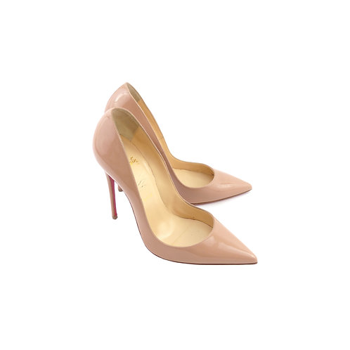 Christian Louboutin 'So Kate' Nude Patent Leather