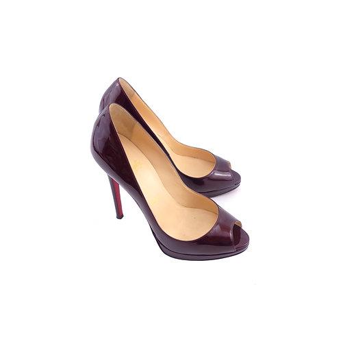 Christian Louboutin 'Yolanda' 120 Rogue Patent Leather