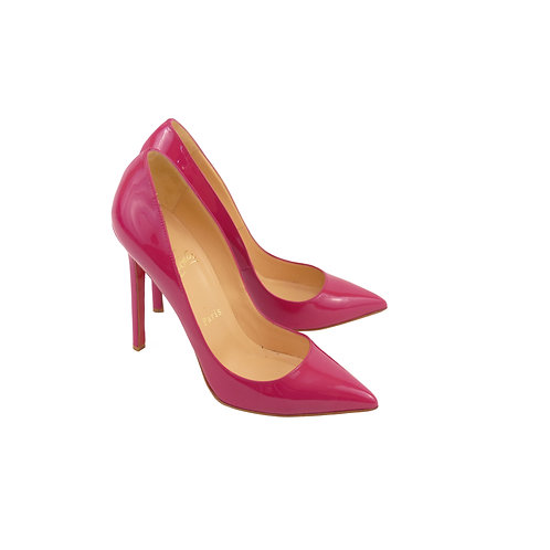 Christian Louboutin 'Pigalle 120' Framboise Patent Leather