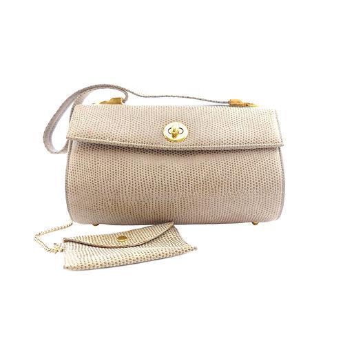 Gina Dark Beige Handbag with Coin Purse