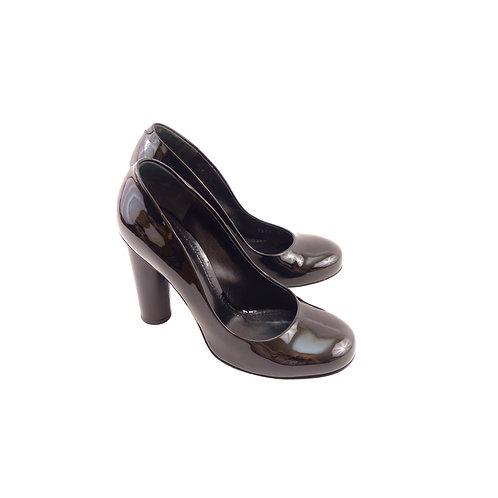 Dolce & Gabbana 'Decollete' Black Patent Leather