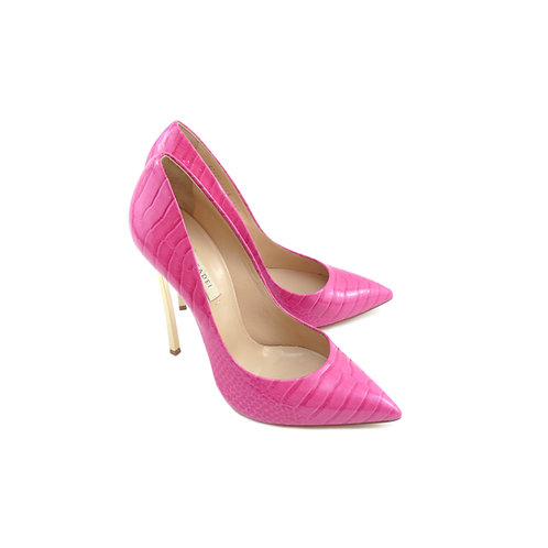 Casadei 'Blade' Funkydrill Raspberry Sorbet Patent Leather