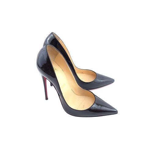 Christian Louboutin 'So Kate' Black Patent Leather