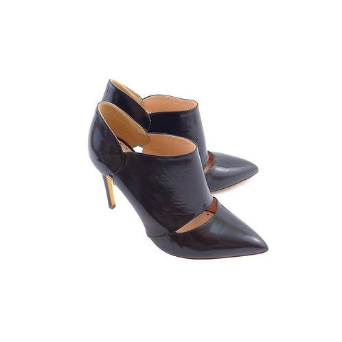 Rupert Sanderson 'Pinkbell' Black Polished Calf Leather