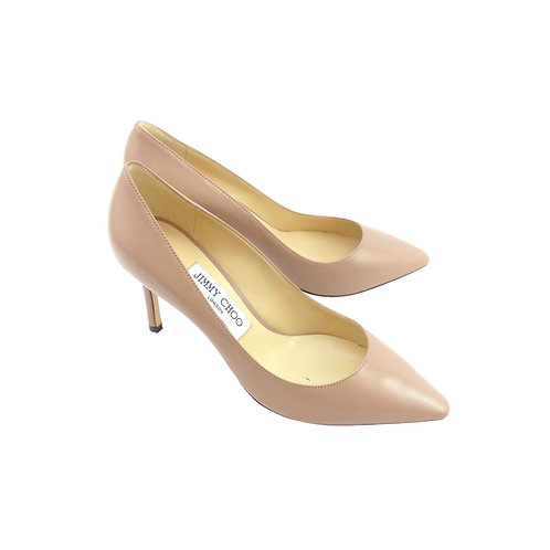 Jimmy Choo 'Romy 85' Ballet Pink Kid Leather