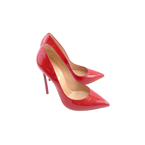 Casadei 'Blade' Red Patent Leather