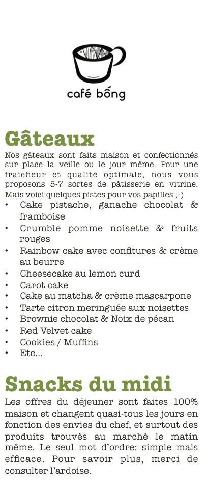 Gâteaux & Snacks