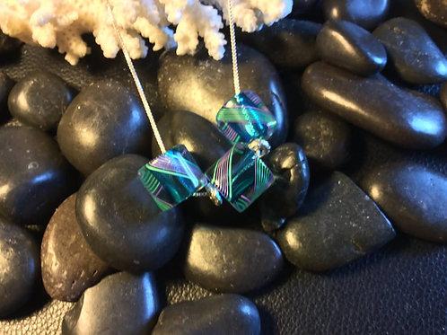Furnace Glass Bead Necklace