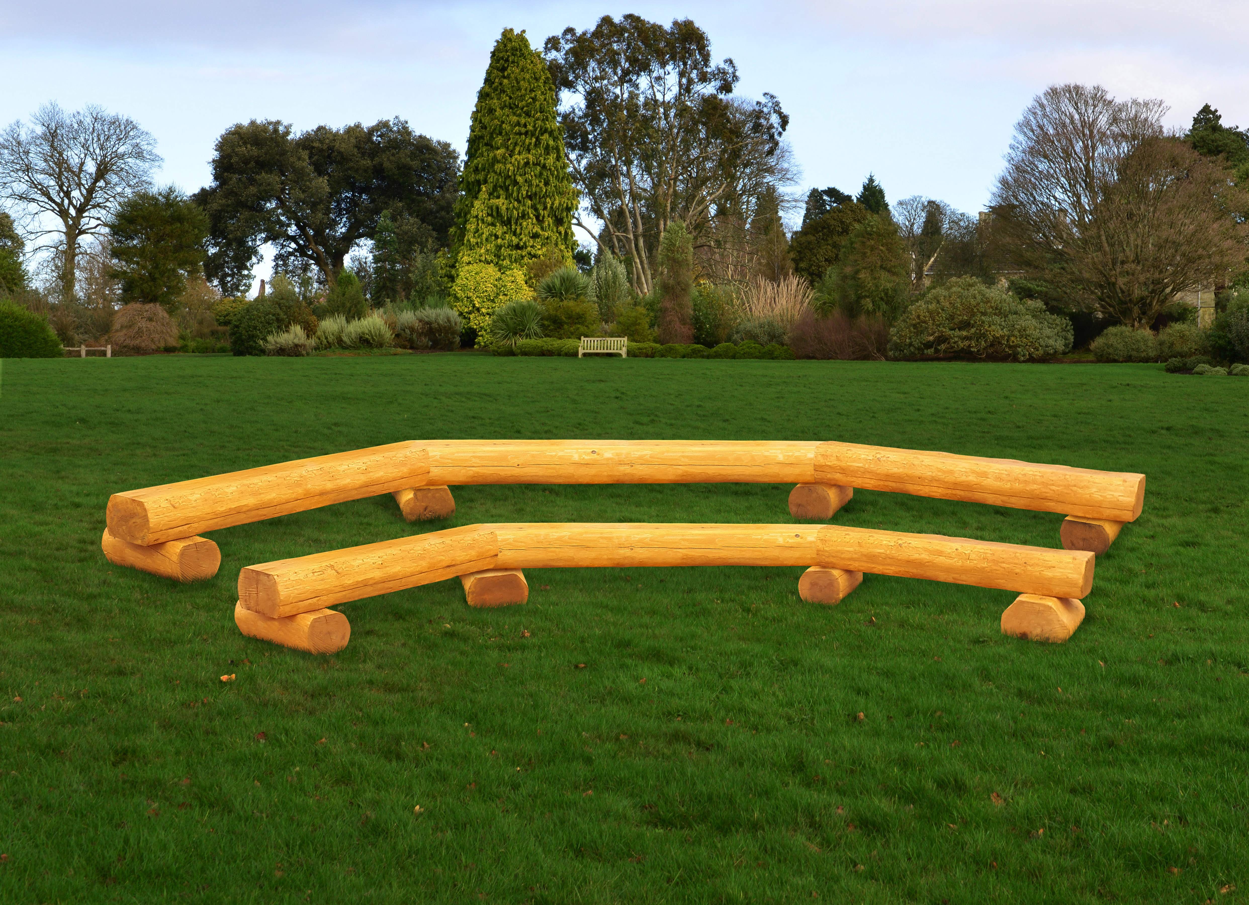Linked Log Row Benches