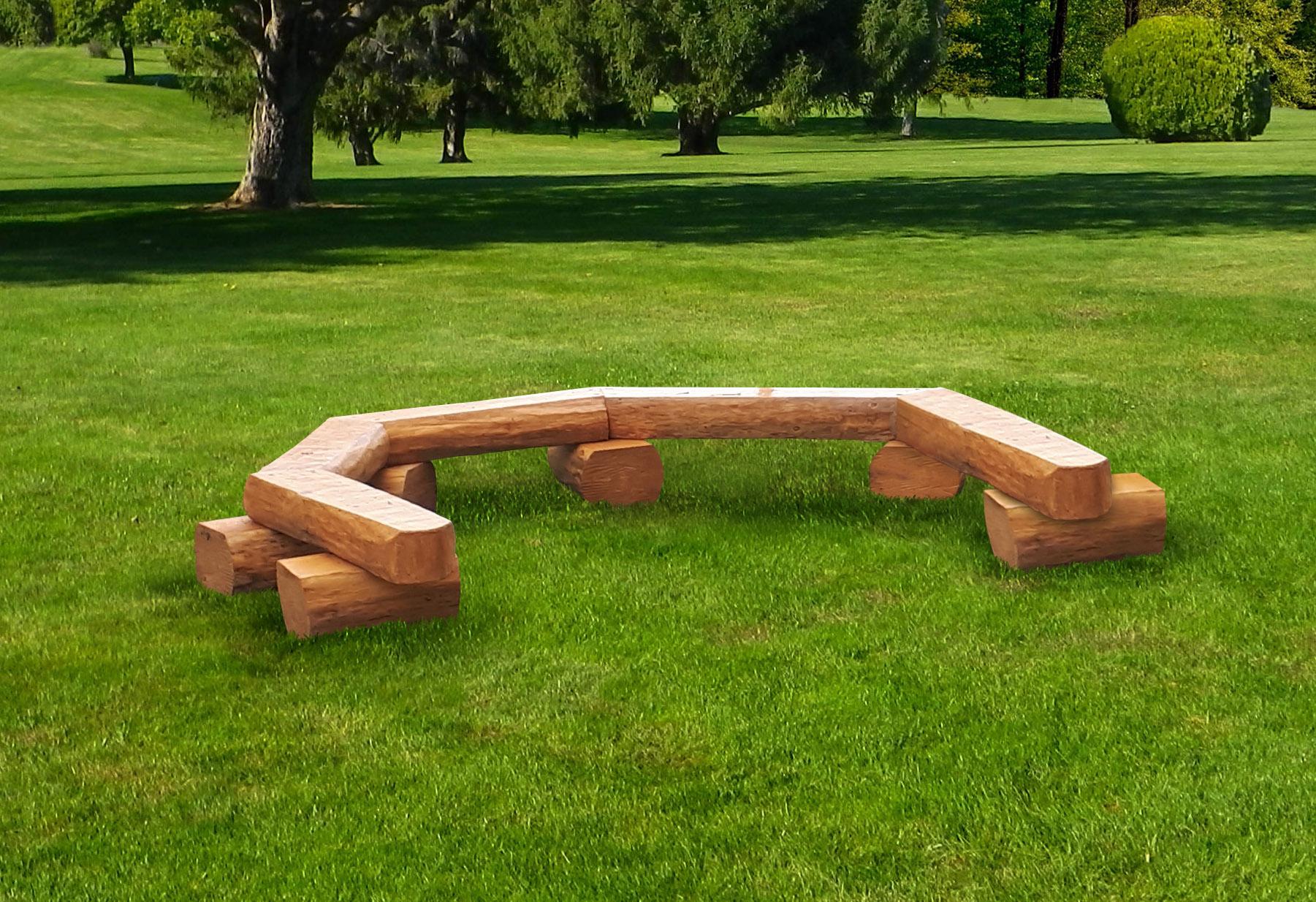 Linked Log Semi-Circle