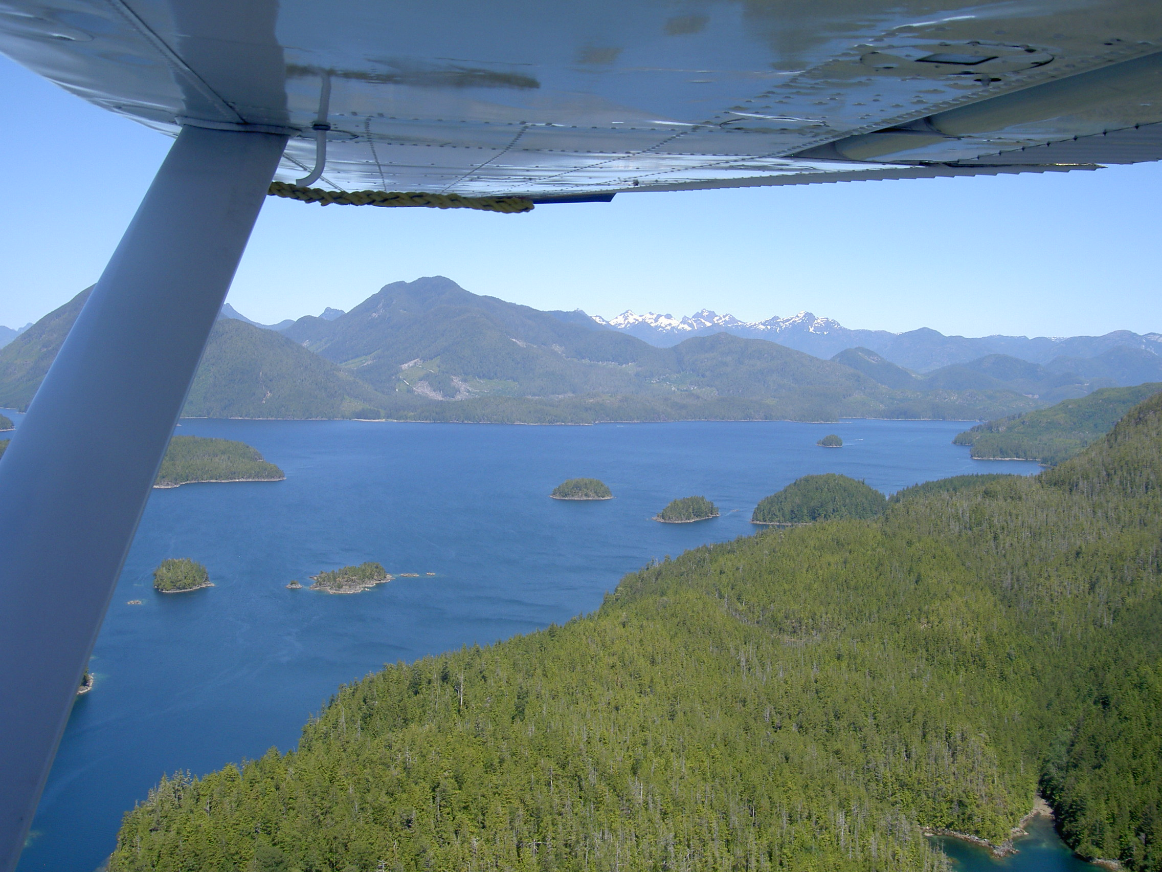 Nootka.view from plane