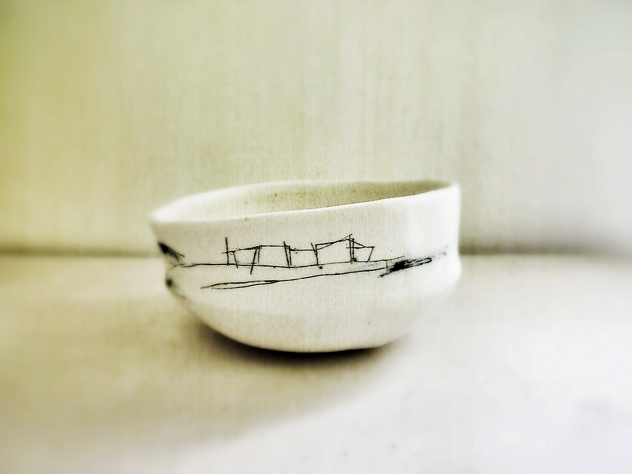 drawing bowl