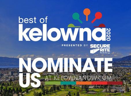 BEST OF KELOWNA 2020 - NOMINATIONS