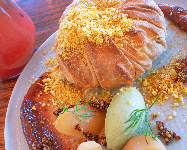 """DINNER: Mushroom """"Empanada"""" Bastilla"""