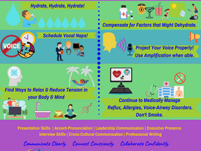 Vocal Wellness for Virtual Conferences