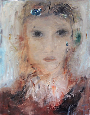 Abstract figurative-portrait
