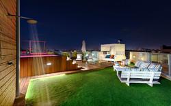 Penthouse Holon -balcony