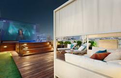 Penthouse Holon - pool