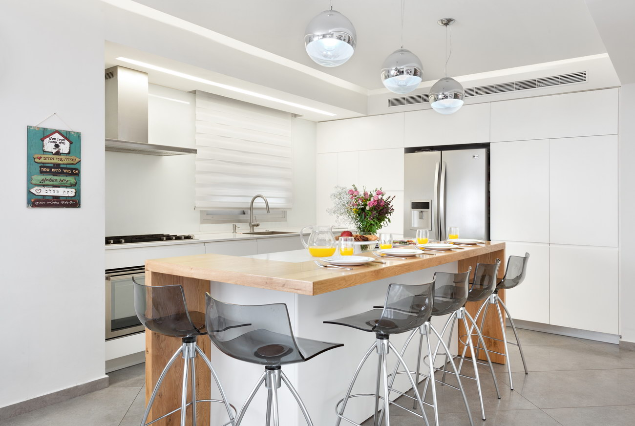 Penthouse Holon - kitchen