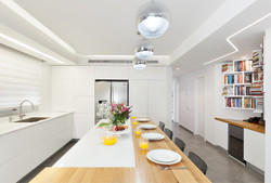 Penthouse Holon - kitchen