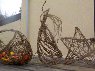 Christmas Angels from the Hedgerow workshop