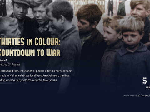 Thirties in Colour - Countdown to War