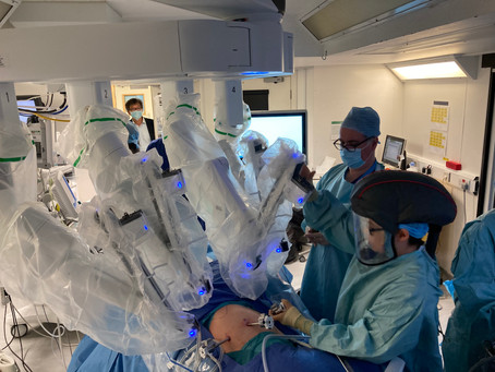 First UK combined thoracic/abdominal case for diaphragmatic endometriosis