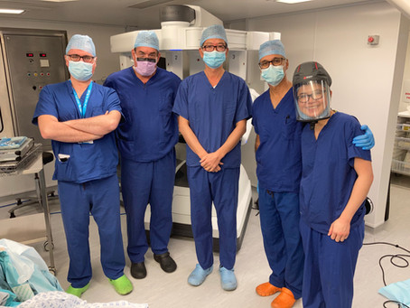 First UK Simultaneous 3 Compartment Surgery for Endometriosis