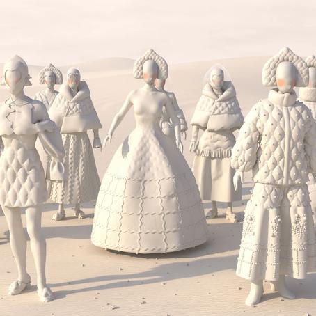 Алена Ахмадуллина провела 3D показ в честь юбилея бренда