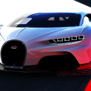 Bugatti показали новый гипер-спорткар