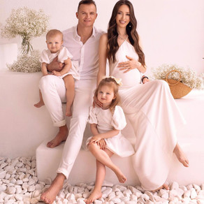 Анастасия Костенко и Дмитрий Тарасов ждут третьего ребенка