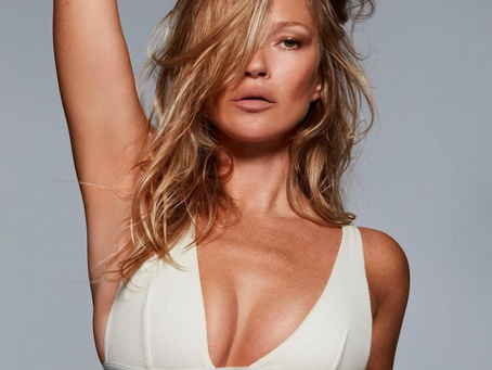 Кейт Мосс стала лицом бренда Ким Кардашьян