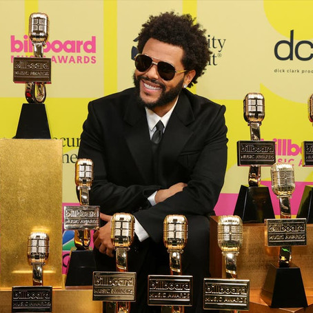 The Weekend взял 10 наград на Billboard Music Awards
