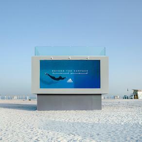 В Дубае можно стать частью рекламы Adidas