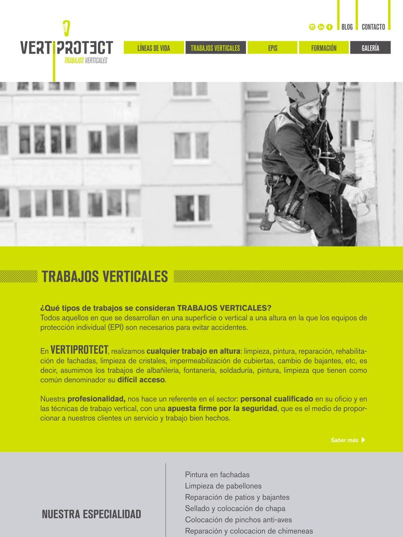 VERTIPROTECT WEB TRABAJOS VERTICALES