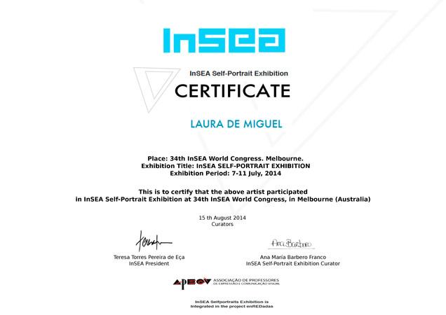 Certificado de participación