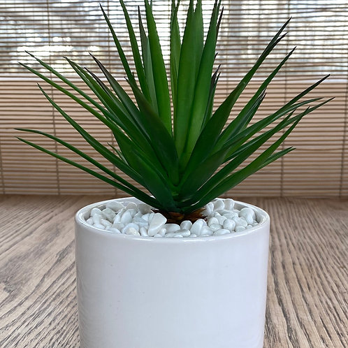 Ceramic White Planter