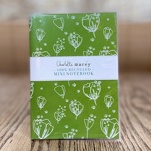 Charlotte Macey Recycled Notebook