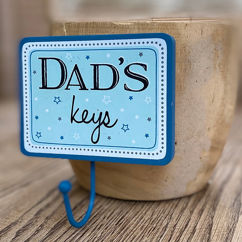 Dads Keys Hook