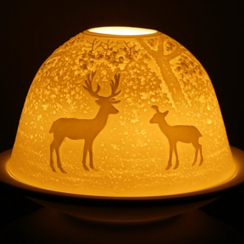 Light-Glow Tealight Candle Holders