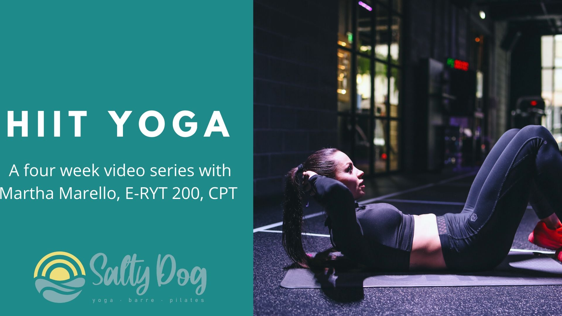 4 HIIT YOGA VIDEO CLASSES